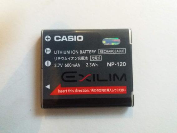 Bateria Usada Para Camara Casio Exilim Np 120
