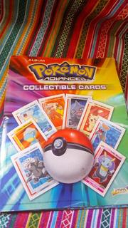 Album De Figuritas Pokemon Advanced Cards Casi Compl C14