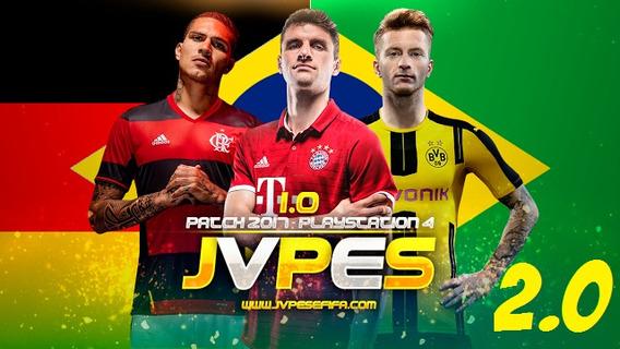 Pes 2017 - Patch Jvpes V.2.0 (bundesliga + Brasileirão) Ps4