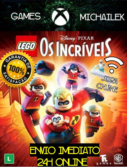 Lego Os Incríveis Mídia Digital Xbox One + Jogo Brinde