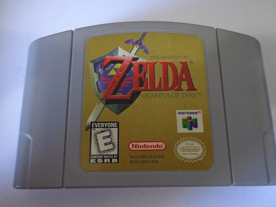 The Legend Of Zelda Ocarina Of Time Nintendo 64!