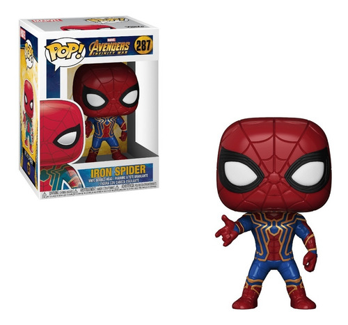Funko Pop Iron Spider #287 - Miltienda - Avengers Marvel