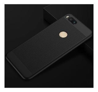 Funda Rígida Para Xiaomi Mi A1 + Vidrio Templado Curvo 2.5d