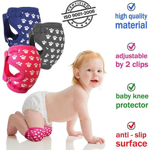 Rodilleras Para Bebé Para Gatear, Diseño Unico Hecho De T