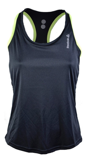 Musculosa Rebook Re Lbt Mujer Negro