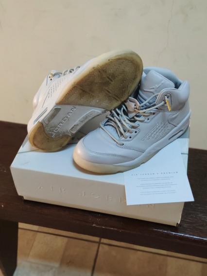 Tênis Nike Air Jordan 5 Prm Gray