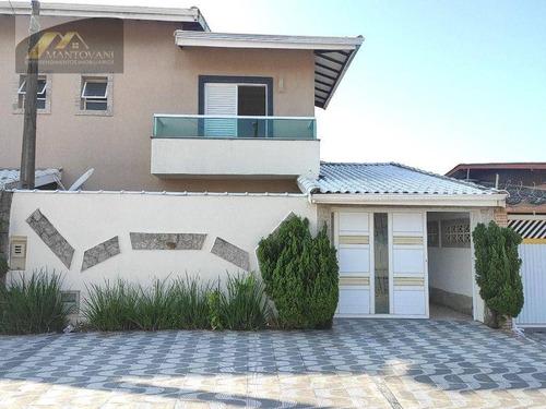 Imagem 1 de 24 de Sobrado Com 2 Dormitórios À Venda, 76 M² Por R$ 330.000 - Maracanã - Praia Grande/sp - So0208