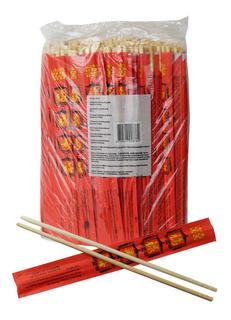 Palillo Chino Bambu Calidad Premiun Oriental 80 Pares