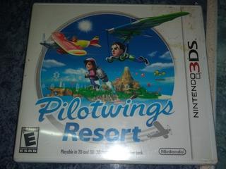 Nintendo 3ds Video Juego Pilot Wings Nuevo Sellado Con Envío