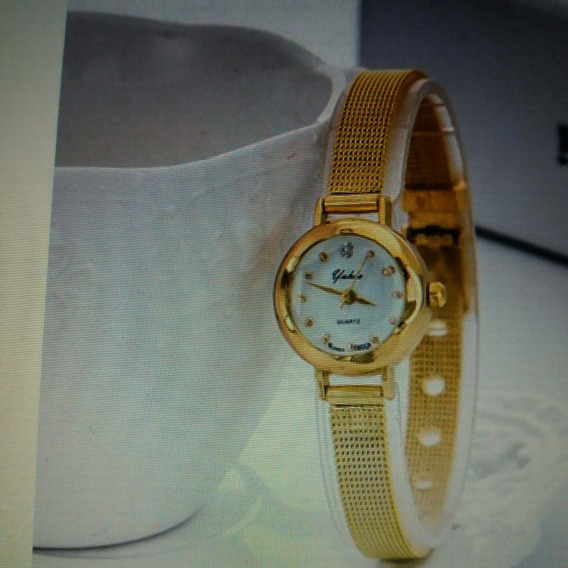 Relógio De Pulso Quartz, Luxuoso