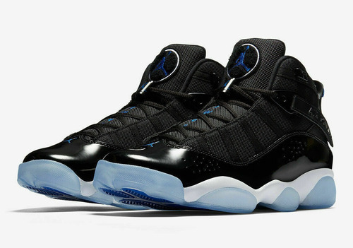 Becks Monet componente  Nike Air Jordan 6 Anillos Espacio Jam Negro Azul 322992 0... | Mercado Libre