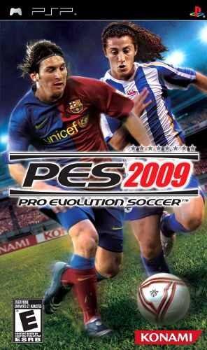 Jogo Novo Lacrado Futebol Pro Evolution Soccer Pes 2009 Psp