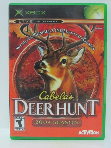 Xbox - Cabelas Deer Hunt 2004 Season - Original Americano