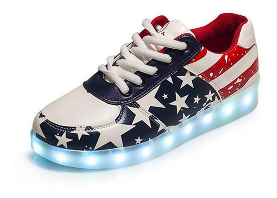 Zapatillas Led Unisex Importadas