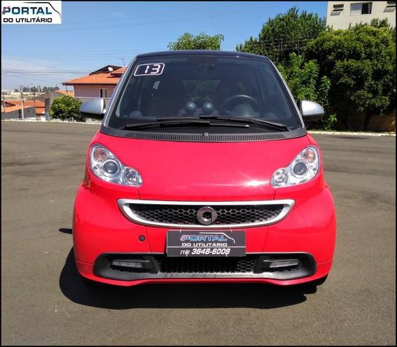 Smart Fortwo - 2013 - Vermelho, 1.0 Turbo, Top !!