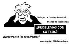 Asesoría De Trabajos De Grado, Tesis, Traducciones
