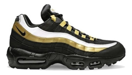 Botas Nike Air Max 95 Og Black Metallic Gold