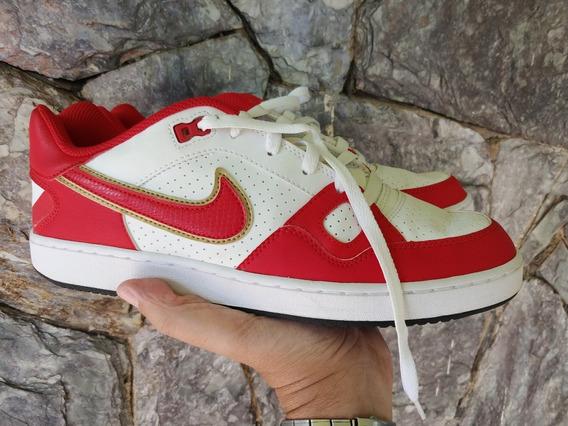 Tênis Nike Mod Force - Vermelho E Branco - Comprado Nos Eua