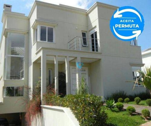 Imagem 1 de 11 de Casa Com 4 Dormitórios À Venda, 499 M² Por R$ 2.399.000,00 - Alphaville - Santana De Parnaíba/sp - Ca0533