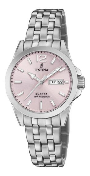 Reloj F20455/2 Festina Mujer Acero Clasico