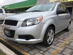 Chevrolet Aveo 2016 Lt Clima Auto Economico 4 Cilindros