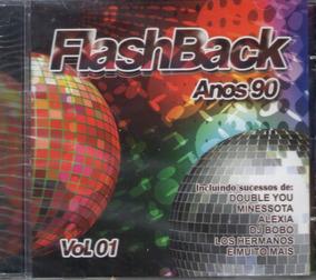 Cd Flashback Anos 90 Vol 1 - Lacrado