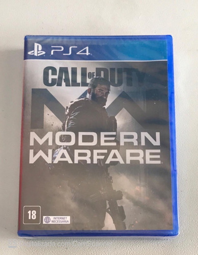 Call Of Duty Modern Warfare (mídia Física) Ps4 (100% Pt-br)