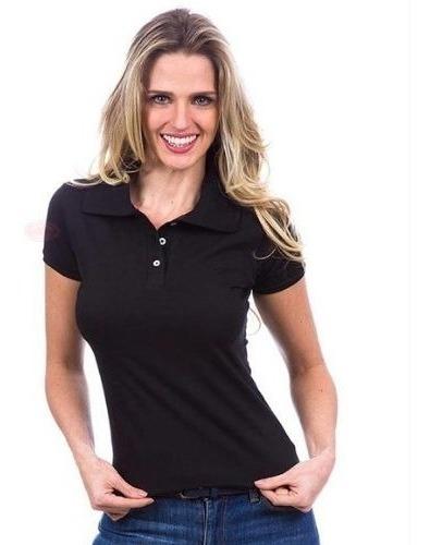 Kit Camisetas Femininas Blusas Polo Atacado 5 Peças Promoção