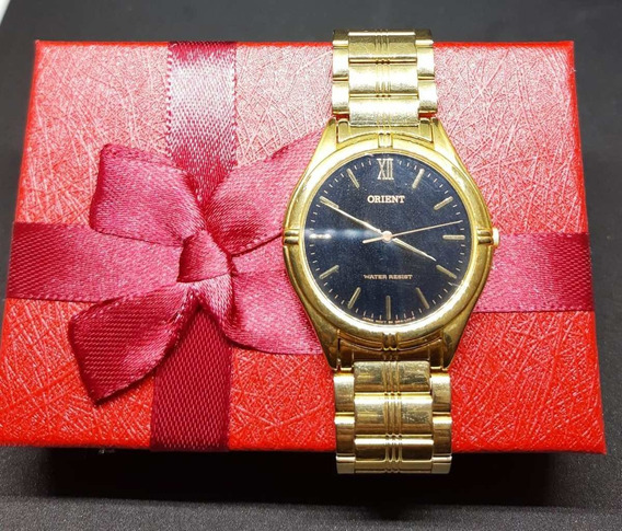 Relógio Orient Quartz Unissex Original A Prova D