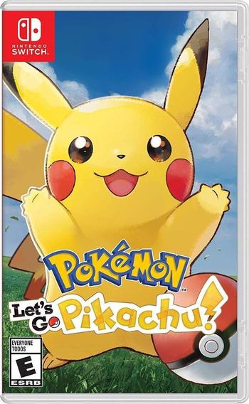 Pokemon Lets Go Pikachu Nintendo Switch Mídia Física