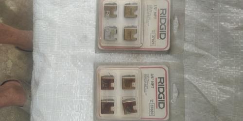 Peines Roscar Ridgid 1/2 Y 3/4 Npt.