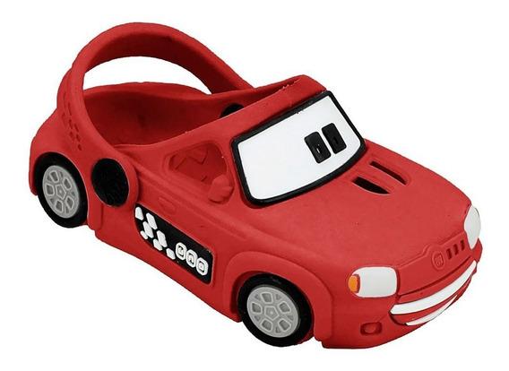 Babuche Plugt Carro Uno - Vermelho