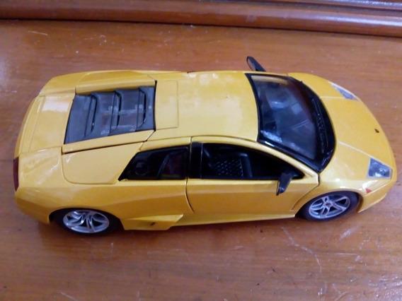 Carrinho Miniatura Lamborghini Murcielago Lp640 Escala Maist