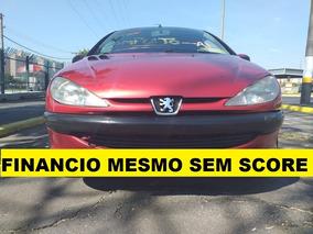 Peugeot 206 2003 1.6 Financiamento Com Score Baixo