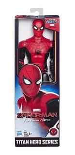 Boneco Titan Hero Homem Aranha Longe De Casa 30cm - Hasbro