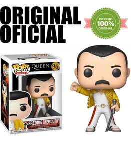 Boneco Queen Freddie Mercury Pop Funko 96 Original Oficial