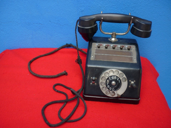 Antiguo Telefono De Hotel, Marca Ericsson