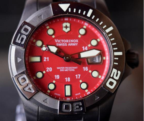 Relógio Victorinox - Diver Master 500 Metros - Raro Modelo