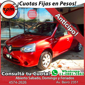 Renault Clio Mio 1.2 Confort Plus 2015 Rpm Moviles Anticipo