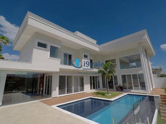 Casa Em Condomínio Com Piscina Borda Infinita Com 4 Dormitórios À Venda, 390 M² Urbanova - São José Dos Campos/sp - Ca1150