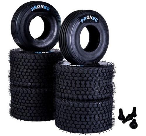 Neumáticos Para Karting Para Pista De Tierra + Picos