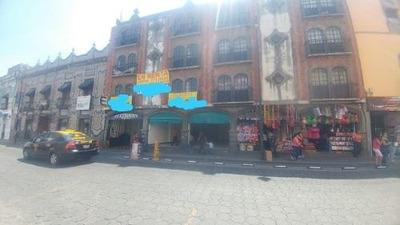 Renta De Local Comercial Para Franquicia En Puebla Col. Centro.
