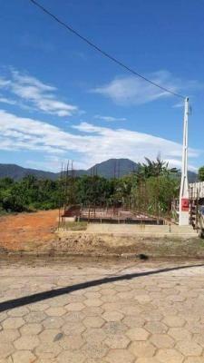 Terreno Em Perruíbe Para Geminada - Construção Iniciada