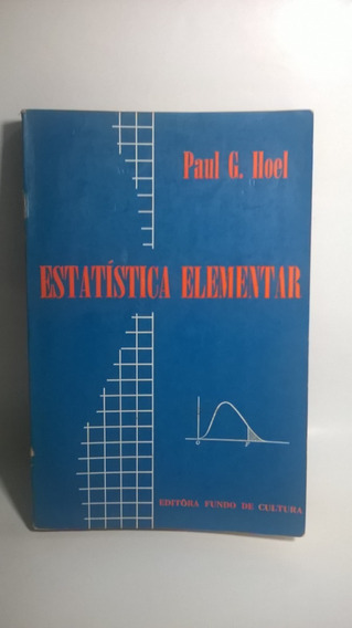 Livro Estatística Elementar - Paul G. Hoel