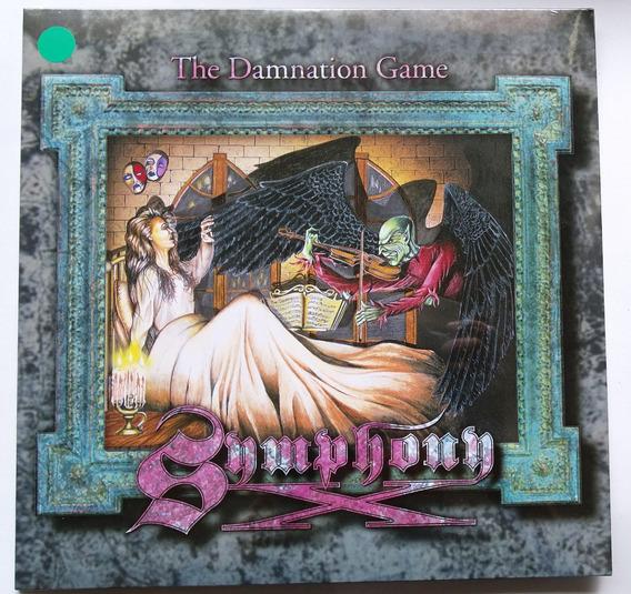 Lp Symphony X - The Damnation Game 180g Edição Verde Raro