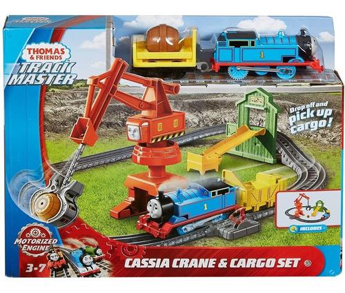 Imagen 1 de 5 de Tren Thomas Pista Grua De Cassia Motorizada Trackmaster