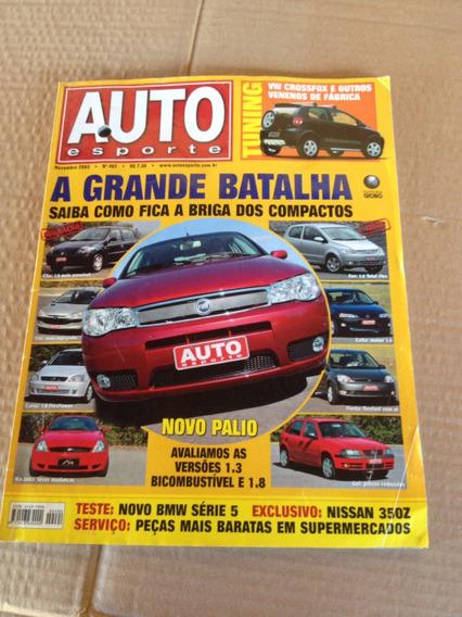 Revista Auto Esporte N 462 Novembro 2003