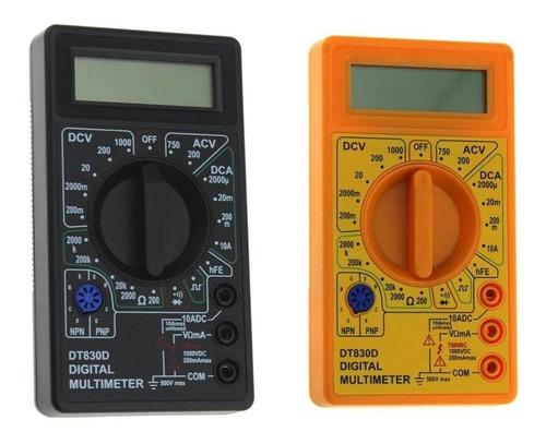 Imagem 1 de 4 de Multímetro Digital Portátil Pratico E Eficiente Com Bateria