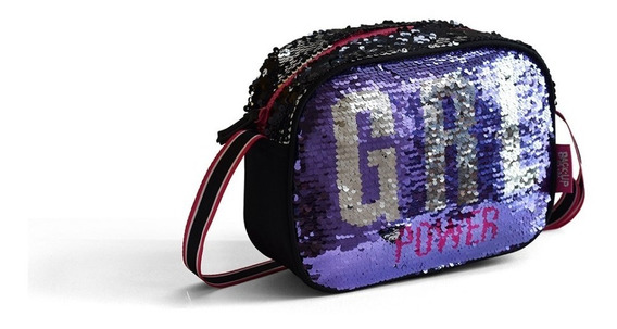 Cartera Lentejuelas Pf 50551 Girl Power Educando