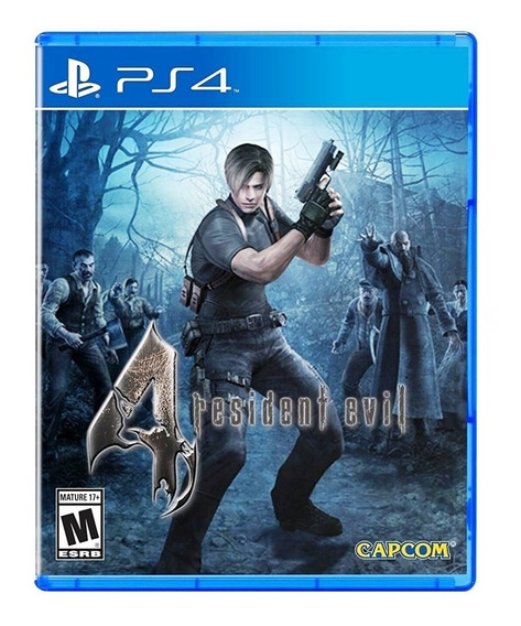 Resident Evil 4 Ps4 Mídia Física Original Lacrado
